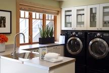 My Home - Laundry Room / Mudroom / Storage / by Winnipeg Girl