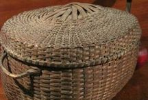Baskets....Wicker & Wire / Wire...Wicker...Wooden Baskets have been around for centuries  and like today they have been ( and will always be)  used for different purposes in the home.  / by Linda Kullman