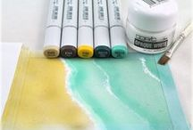 Crafts ≈≈ Copic Markers / by Linda Kullman