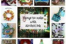 Crafts ≈≈ Alcohol Inks / by Linda Kullman