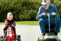 ♥ Grandchildren + Grandparents ♥ / Grandchildren are a sweet blessing from God! As a pin below states....Grandchildren are the Grandparent's link to the future. Grandparents are the child's link to the past. / by Linda Kullman