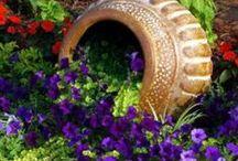 Garden~~~Accents...Planters / by Linda Kullman
