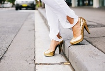 Shoes of Prey Glitter Collection / Design your perfect sparkly shoes online at shoesofprey.com. Here, a few ideas to get you started - along with some seriously sexy outfit inspiration. Enjoy!  / by Shoes of Prey