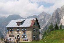 Rifugi delle Dolomiti  / DOLOMITI Patrimonio naturale dell'Umanità UNESCO World Heritage Site