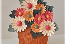 Flower pot Card & Co. / by Zia Pissi