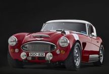 Austin Healey / Inspiration for the restoration and upgrading of my 1961 Austin Healey 3000 project. / by Bryan Rasch
