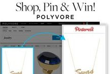 """""""If the ___ fits, wear it!"""" / Congrats contest winners Stephanie M., Mikayla R., Samantha S., Jessica D., & Dijana R. Please email us at social@polyore.com to get your Polyvore GC! / by Polyvore"""