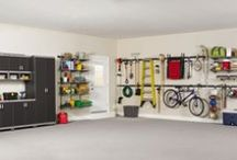 HOME: Garage & Man Cave / Garage and Tito's Play Area / by Christy Ruiz-Castañeda