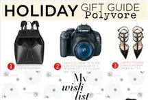 Holiday Wish List / Jumpstart your holiday shopping and find gift ideas for fashion lovers, beauty junkies, gadget geeks and more! Naughty or nice, there's a gift here for everyone this holiday season.