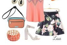 Spring Outfits / Totally on-trend spring outfits to wear everywhere!