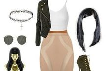 Nicki Minaj Style / Nicki Minaj's style is edgy and stylish yet crazy and fun.