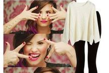 Demi Lovato Style / Get Demi Lovato's look with these top sets.