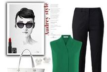 Audrey Hepburn Style / Who's your style icon? We bet many of you would say Audrey Hepburn and we TOTALLY see why.