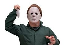 Horror-Shop ♥ Michael Myers / What better way to celebrate Halloween with the most notorious Halloween Serial Killer of all: Michael Myers. Get yourself in the Halloween Spirit with our licensed masks and costumes from the famout Halloween Movies!