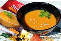 Bundeva na tanjuru / Za pripremu savršenih juha, variva, pita i savijača ne treba vam čarobni štapić, već čarobni Coolinarikini recepti sa samom bundevom, sjemenkama ili bučinim uljem. Obavezno ih isprobajte jer bundeva je in namirnica.  / by Coolinarika Podravka