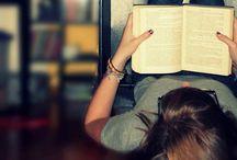 a study / book shelf