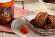 Omiljena Lino lada / Nema te slastice koju Lino lada neće učiniti neodoljivo ukusnom, a na vama je da pronađete svoju omiljenu kombinaciju. / by Coolinarika Podravka
