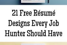Resumes / Resumes designs to help inspire a design that will help you stand out in a crowd