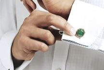 ISHARYA Men's Cuff Links / Designer men's cuff links in a variety of fashionable colors and styles by ISHARYA.