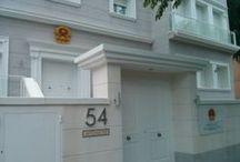 Embajada de Vietnam / La Embajada de Vietnam en Madrid. Tramitación de visados a Vietnam.