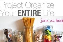 get organized / by Rhonda Prewett Stewart