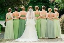 Shades of Green for Weddings and Prom