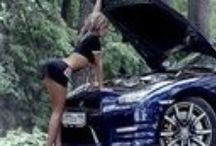 Hot Muscle Cars & Babes / by Norm With 3 Bratty Girls! Help