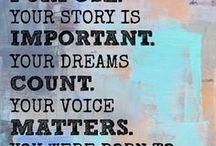 Purpose & Passion / I believe that everyone has a passionate purpose.  http://www.danaarcuri.com/