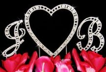 Heart Theme and Valentine Weddings / Ideas and Accessories for your heart theme or Valentine's Day wedding, party or shower! So romantic!