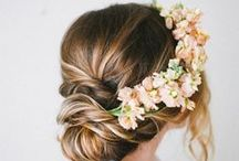 Wedding Hair Ideas / by Laura Skelton // Block Party