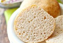 Gluten Free Breads / Breads that are free of the most common ingredient- gluten. Most are free of dairy and egg as well.