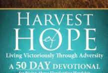 My 50 Day Devotional For Hope / Faith inspired Author & Speaker, Dana Arcuri, wrote a 50 Day Devotional in conjunction with her memoir, Harvest of Hope: Living Victoriously Through Adversity. She offers her book of 50 devotions to help women draw closer to God as they embrace supernatural peace that only our Heavenly Maker can provide. Whether you're facing daily stress or fiery trials, each devotional will spur you onward to rise above adversity to live victoriously.  http://www.danaarcuri.com/