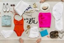 Travel Packing List / #Travel / Perfect packing for the fashionable traveller.