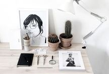 Creative Workspaces / Inspiration for The Love Assembly HQ - a creative workspace overflowing with new ideas!