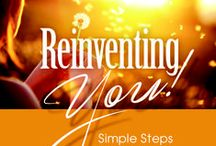 Reinventing You: Simple Steps to Transform Your Body, Mind, & Spirit / The powerful message within each page is to encourage, equip, and empower women to transform their lives. Learn how to let go of old habits to step into the new beautiful, imperfect you so you may fully thrive. Order your copy today! For updates and encouragement visit my website: http://www.danaarcuri.com/