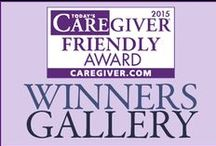 Today's Caregiver Friendly Awards 2015 / Announcing the 2015 Today's Caregiver Friendly Award Winners / by Today's Caregiver