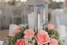 Wedding Centerpieces and Decorations / Tons of inspiration for your wedding reception centerpieces and  decorations. Here are some super ideas for your decorations using candles, lanterns, flowers, diy items and more!