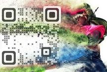 Graphic QR Codes / #QRCodes are back! Make a real splash with new graphic QR codes that not only encourage more user interaction and can contain a range of content types, but they are also dynamic! Change the content without having to change the QR image.  Follow us on FB for updates and offers https://www.facebook.com/fullfat.creative.services  #graphicqrcodes #qrcodes