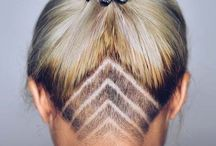 Unthercuts hair