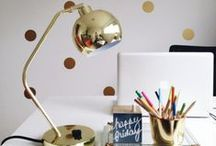 WORKSPACE LOVE / by Renee | Bespoke by Renee