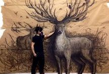 Art / Paintings, Illustrations, mix media, and Sculptures.  / by Jess Leigh