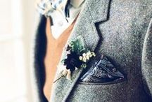 mens wedding attire / by Jayne Sacco