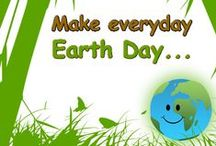 LET'S BE INSPIRED TO BE GREEN...! / It is awesome to see more earth conscience people getting involved and helping to make a difference!