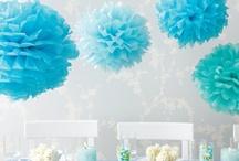 Blue paper Crafts