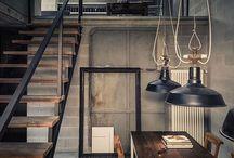 Industrial Love / industrial interior design inspiration