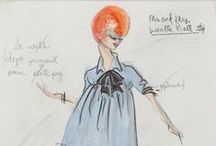Edith Head Sketches