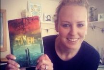 #TakenWithTAKEN / Photos of readers, taken with their copies of TAKEN. (Use the hashtag #TakenWithTAKEN when sharing to social networks and I'll add your photo to the board if/when I see them!)