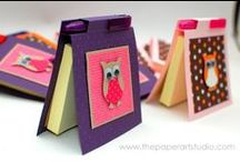 Thank You Gift ideas for Teachers / All sorts of gift ideas to say thank you to a loved teacher at the end of term - all paper and card crafts that you and your children can make at home #teacher #gift # handmade