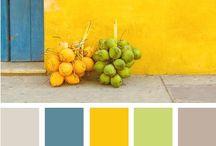 Colour palette / by Francois Morrow