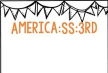 America- SS and 3rd grade / Second semester studies... / by Belinda Anderson